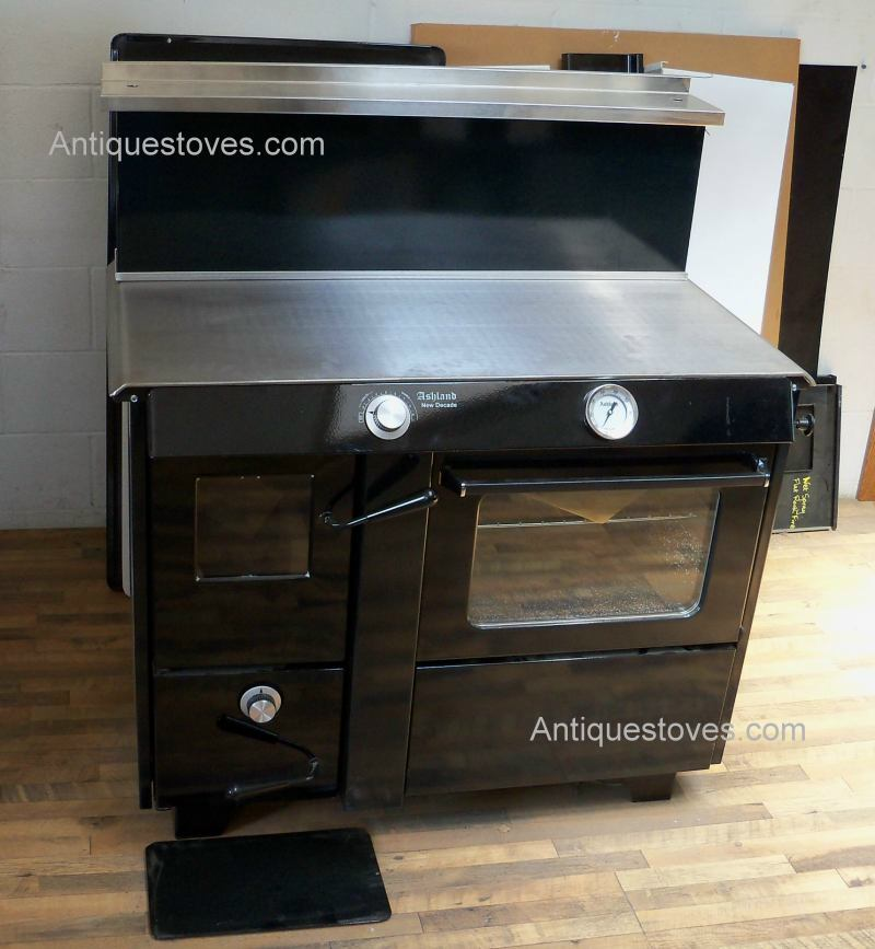 Ashland Cook Stove, Ashland wood cook stove, Amish wood cook stove,wood coal - Wood Cook Stoves,Kitchen Queen, Ashland,Bakers Oven,wood Stoves,