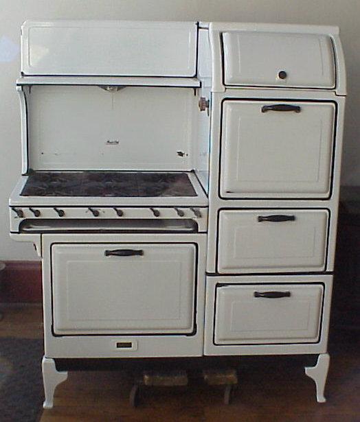 antique magic chef gas stove. Black Bedroom Furniture Sets. Home Design Ideas