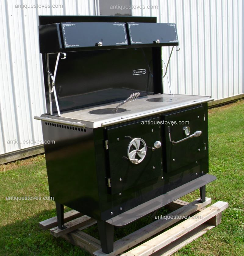 Kitchen Queen, Kitchen Queen Cookstove,wood Cook stove, wood cooking stove  · New Amish Made - Wood Cook Stoves,Kitchen Queen, Ashland,Bakers Oven,wood Stoves,