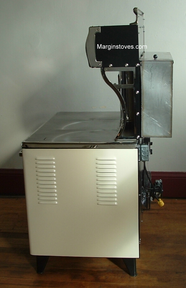 Flame View Wood Cook Stove
