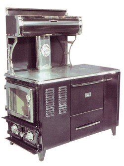 Flame view, wood cook stove,Heating capacity of 2,000 square feet or more