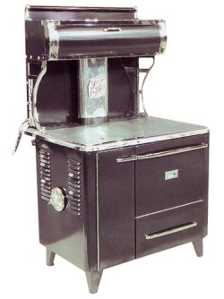 Gem Pac wood cook stove
