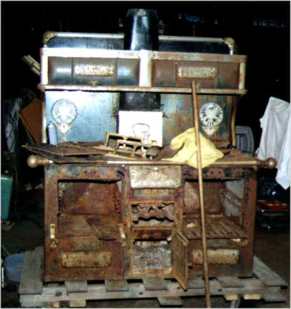 stove,woodstove, cookstove, parlor stove,weld, cast iron, kitchen, - Antique Stoves Sales; Museum Quality Restorations