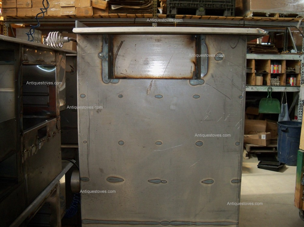 ... Pioneer Princess wood cook stove, fire box outer ... - Pioneer Princess Stove Construction Photos